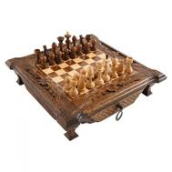 Шахматы резные в ларце 40, Haleyan, фото 1
