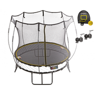 Батут SPRINGFREE R54HW с корзиной для мяча и колесиками, фото 1