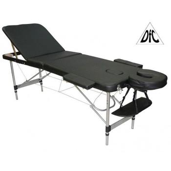 Массажный стол DFC RELAX COMPACT белый/черный, фото 2