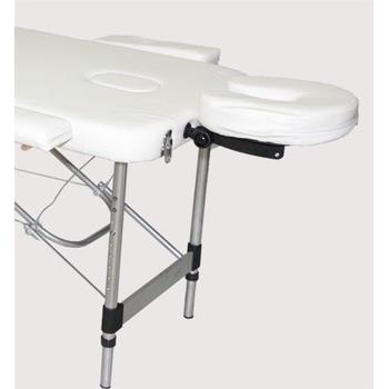 Массажный стол DFC RELAX COMPACT белый/черный, фото 6