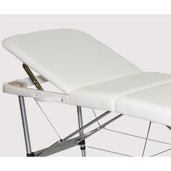 Массажный стол DFC RELAX COMPACT белый/черный, фото 8