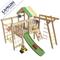 Игровая уличная площадка для детей - Чердак САМСОН ВАЛЛИ, горка, турник, качели, кольца, домик-чердак, фото 1